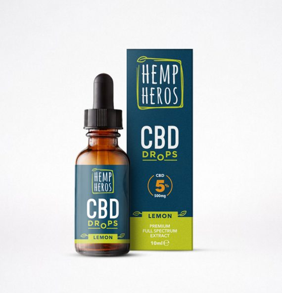 CBD Drops lemon