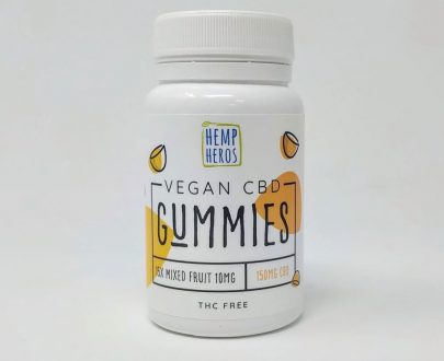 Hemp Heros Vegan CBD Gummies