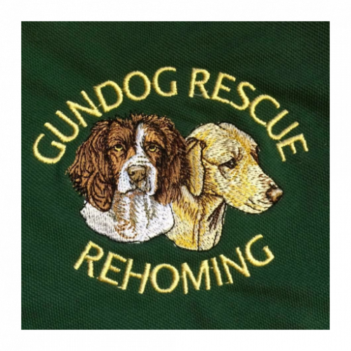 gun dog rescue logo